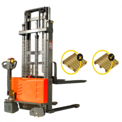 1.5 tons GEOLIFT Walkie Electric Stacker - EES1516