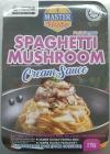 Master Pasto Spaghetti Mushroom Cream Sauce Master Pasto