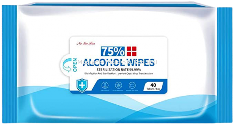 Na Sin Ron 75% Alcohol Wipes