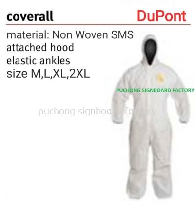 DUPONT PROSHIELD DISPOSABLE COVERALL