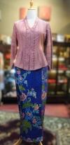KBY049 Cotton Lace Kebaya Kebaya Series Nyonya Series