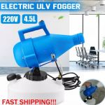 ULV 4.5L PORTABLE ELECTRIC ULTRA-LOW DISINFECTION COLD FOGGER SPRAYER  c/w  5L DIVERSAY HARD SURFACE DISINFECTANT