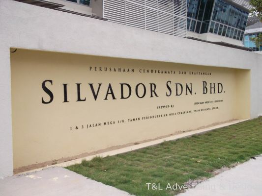 Silvador 5mm Acrylic Cut Out Outdoor