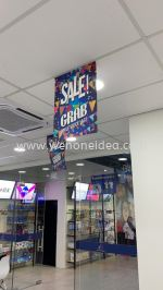 Synthetic Hanging Banner