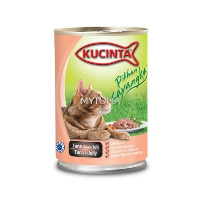 KUCINTA 400G -TUNA IN JELLY