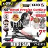 """YATO YT-82172BS / YT-82172 / YT82172 / YT 82172 / 7"""" 4500rpm Mitre Saw C/W Laser Guide 1500W Mitre Saw , Table Saw Power Tool"""