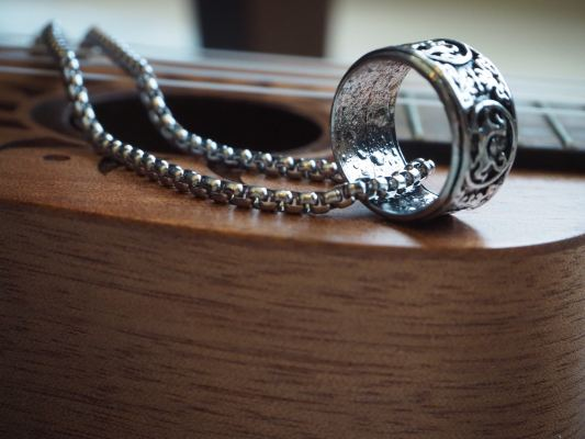 Rings Of The God Necklace