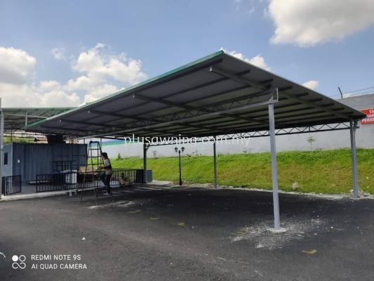 Metal Roofing with PU @Jalan 2/154, Taman Bukit Anggerik, Kuala Lumpur