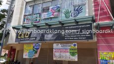 ceo auto sport metal g.i signage signboard