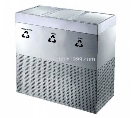 RECYCLE SWING TOP BIN - RECYCLE-201/SS