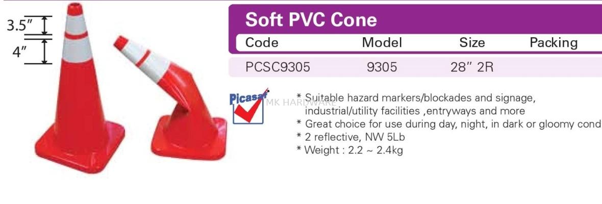 SOFT PVC CONE