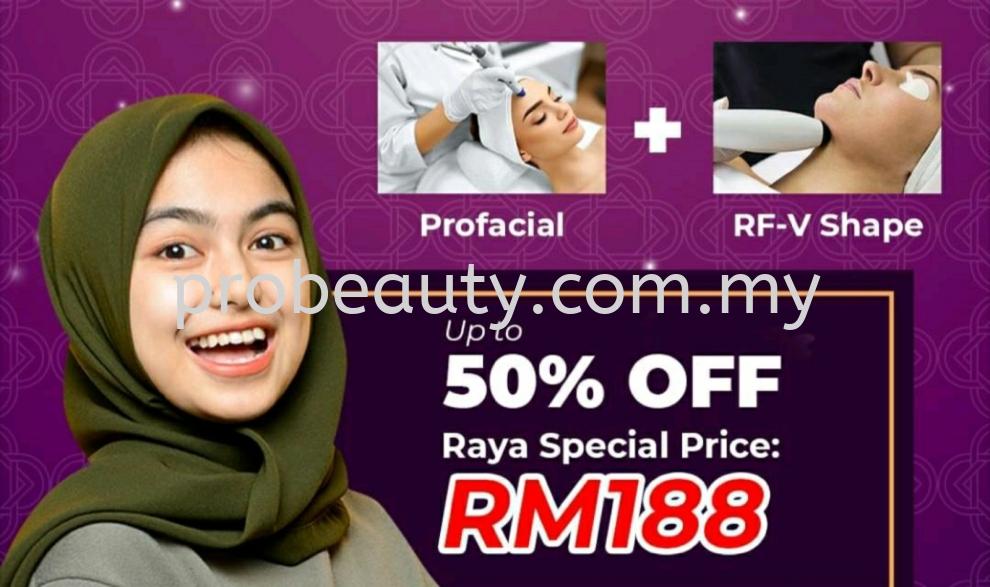 Profacial + RF-V Shape Rm188 ●Raya Special Price●