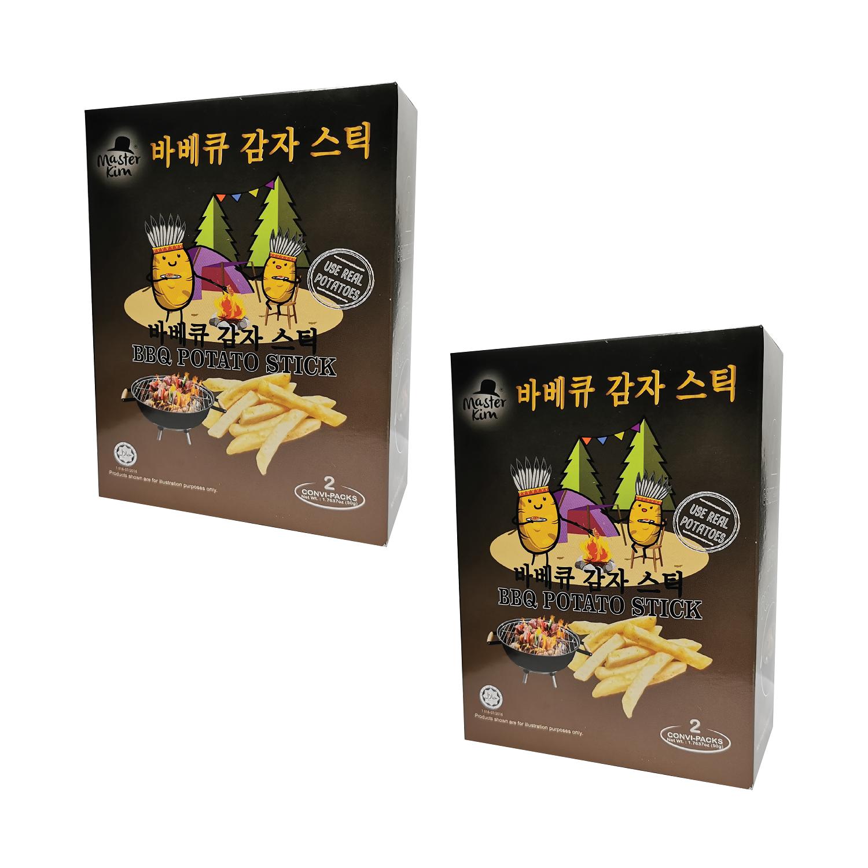 Master Kim BBQ Potato Stick 50g Signature Flavour (Potato Chips Snacks)