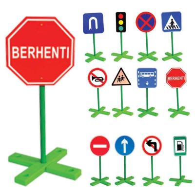 IT-034 TRAFFIC SIGN BOARDS (12 TYPES)
