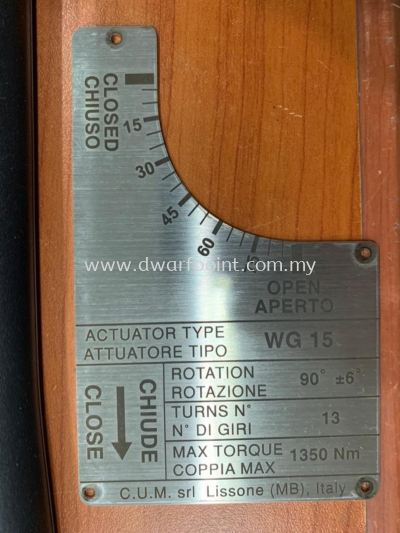 Stainless Steel Engraving Plate