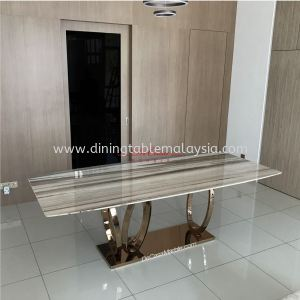 Luxury Dining Table   Palisandro Classico   8-10 Seaters   Italian Marble