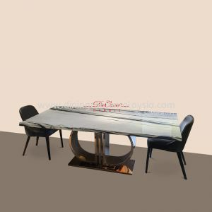 Panda White   China   8 Seaters   Dining Table only   RM9999