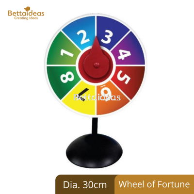 Table Wheel of Fortune