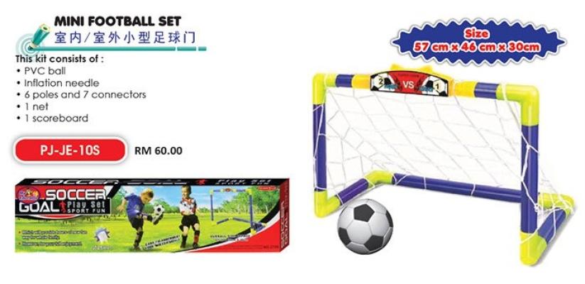 PJ-JE-10S Mini Football Set
