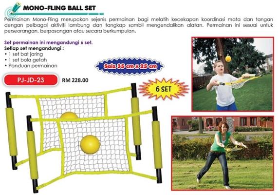 PJ-JD-23 Mono-Fling Ball Set