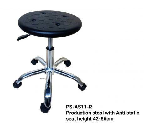 PS-AS11-R Production stool with Anti static
