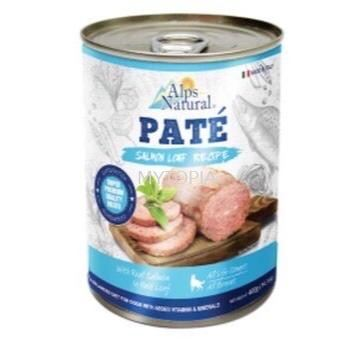 ALPS NATURAL PATE 400G -SALMON LOAF