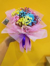 Mix colour Baby breath Small Bouquet