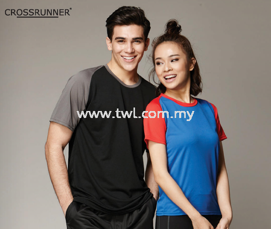 CROSSRUNNER CHARGE TEE CRR 1700_Dry Pique