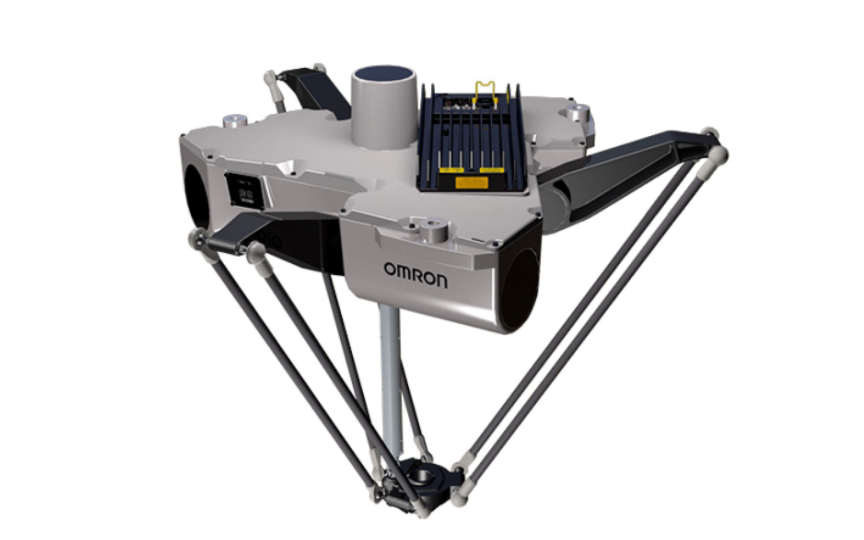 OMRON iX3  Parallel robot ideal for use in the food and beverage, pharmaceutical, and healthcare ind