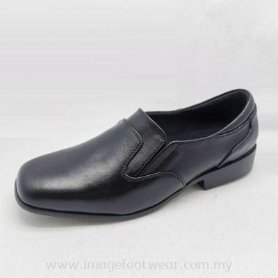 EXPRESS POLO Full Leather Ladies Shoe-LL-90545-BLACK Colour