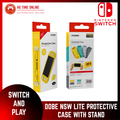 DOBE Nintendo Switch Lite Protective Case with Stand | YELLOW