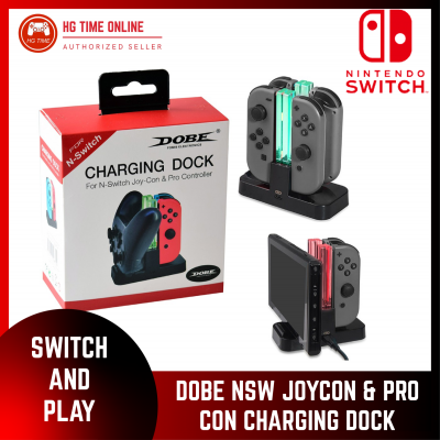 DOBE Nintendo Switch Charging Dock for Pro Controller and Joy Con