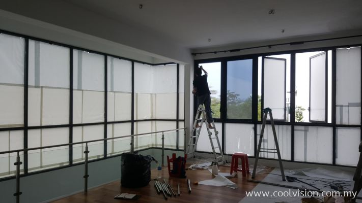 Reflective Tinted Film : Silver 10