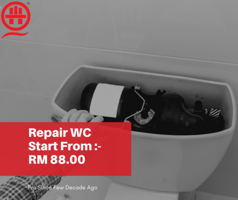 Bathroom Water Closet Flushing Out Function? Call Plumber Now.