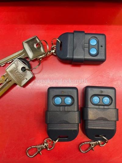 duplicate door remote control
