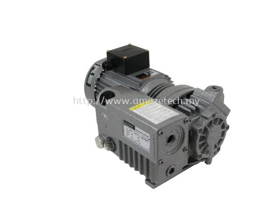 AES D-OS-010 Oil Rotary Vane Vacuum Pump / Lubricated Rotary Vane Vacuum Pump