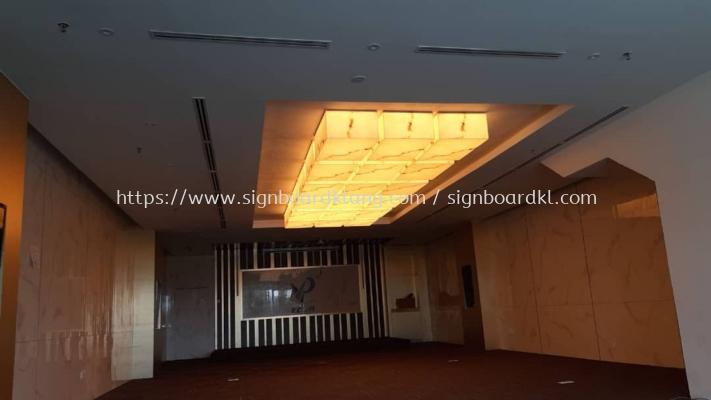 interior ceiling indoor light acrylic display