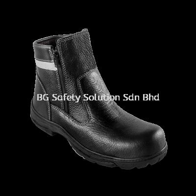 """<BODYGUARD> BG603 Smart Series - 6"""" Mid Cut Zip-up Boots"""