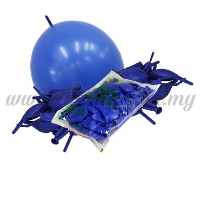12inch Standard Link Balloons - Blue 100pcs (B-12SRL-S2)