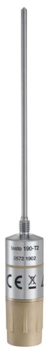 TESTO 190-T2-CFR Temperature data logger with long, rigid probe