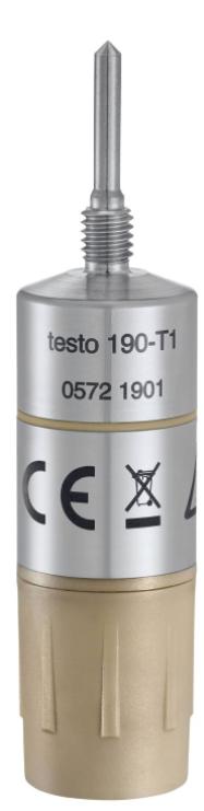 TESTO 190-T1 Temperature CFR data logger with short, rigid probe
