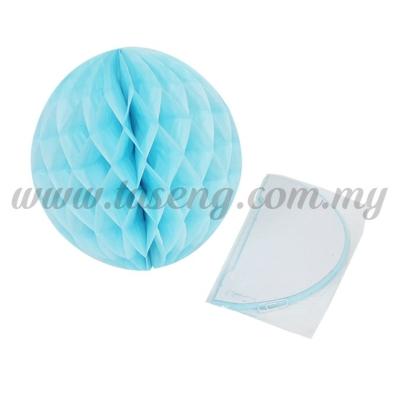 25cm Honeycomb Ball Baby Blue (PD-HC25-05)