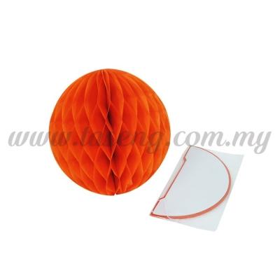 20cm Honeycomb Ball Orange (PD-HC20-02)