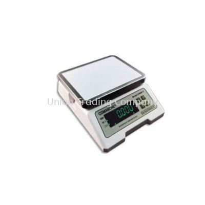 COMANCHE CMWP-F ELECTRONIC WATERPROOF WEIGHING SCALE (DUAL COLOR LED DISPLAY)