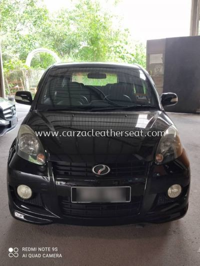 PERODUA MYVI STEERING WHEEL REPLACE SYNTHETIC LEATHER