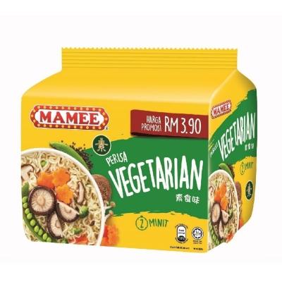 Mamee Premium(Mi Tarik) Vegetarian 75g x5