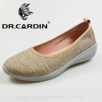 Dr. Cardin Women Slip-On Sneaker -DC-3535- COFFEE Colour