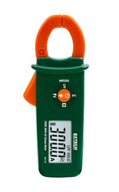 EXTECH MA140 : True RMS 300A AC Clamp Meter