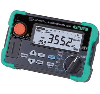 KYORITSU KEW 3552 Digital Insulation / Continuity Testers
