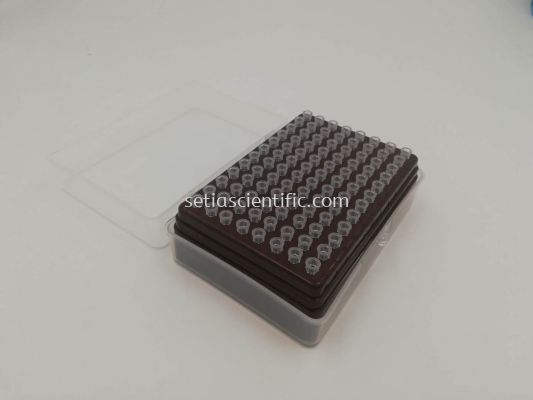 10 uL Universal Long Filter Pipette Tips, sterile, DNase, RNase and pyrogen free, 96 tips/rack